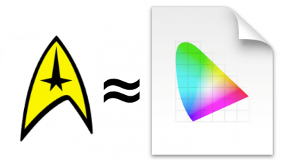All I needed to learn about color management I learned watching Star Trek