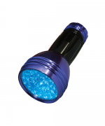 Example of a retail black light flashlight.